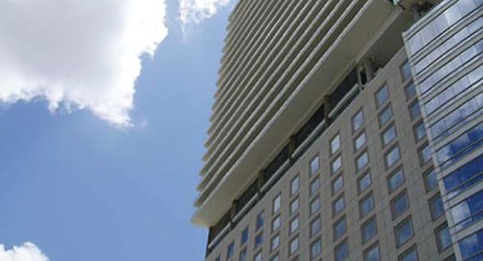 Griswold Controls Case Study - Dallas' W Hotel & Victory Park